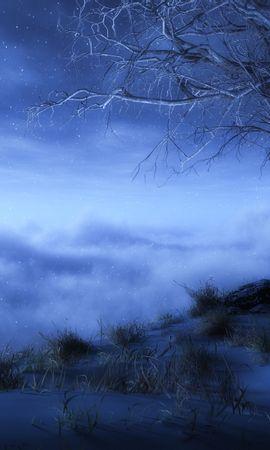 27743 скачать обои Пейзаж, Деревья, Облака, Рисунки - заставки и картинки бесплатно
