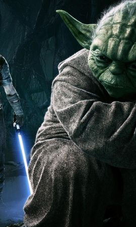 24740 descargar fondo de pantalla Cine, Personas, Actores, Star Wars, Maestro Yoda: protectores de pantalla e imágenes gratis