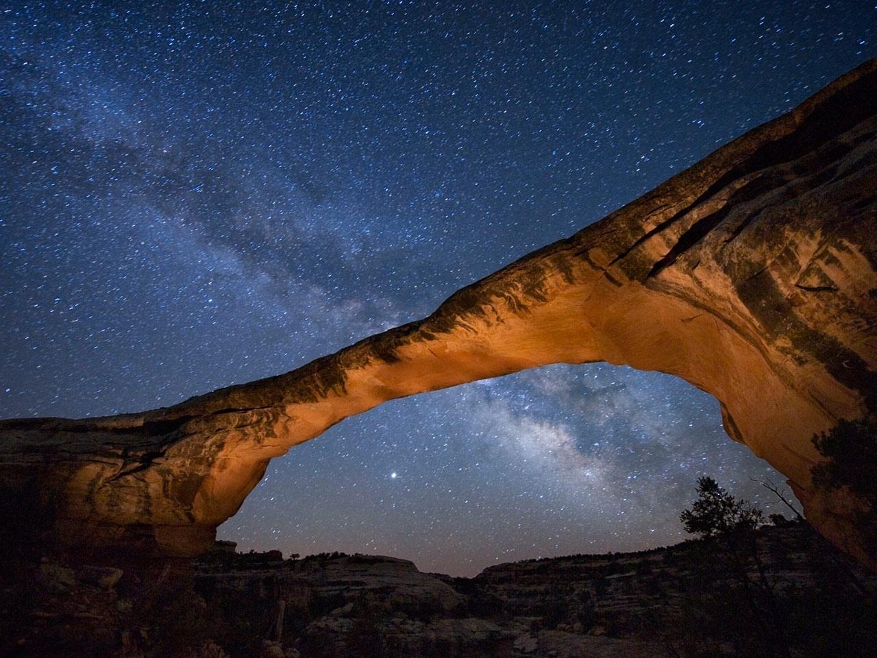 30369 скачать обои Пейзаж, Небо, Горы, Звезды, Ночь - заставки и картинки бесплатно