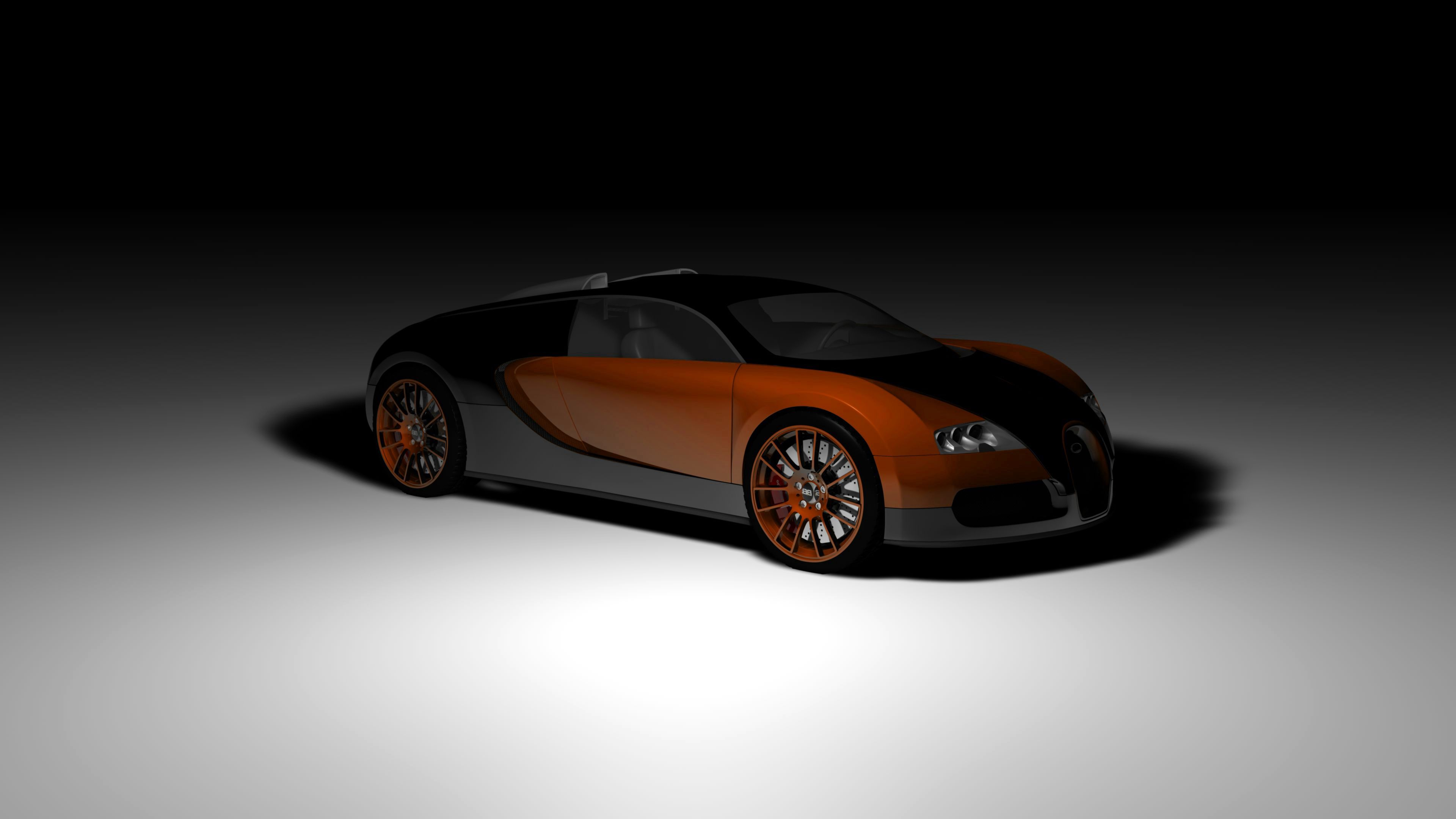 70519 download wallpaper Cars, Bugatti, Veyron, Concept, Auto, Side View, Shadow screensavers and pictures for free