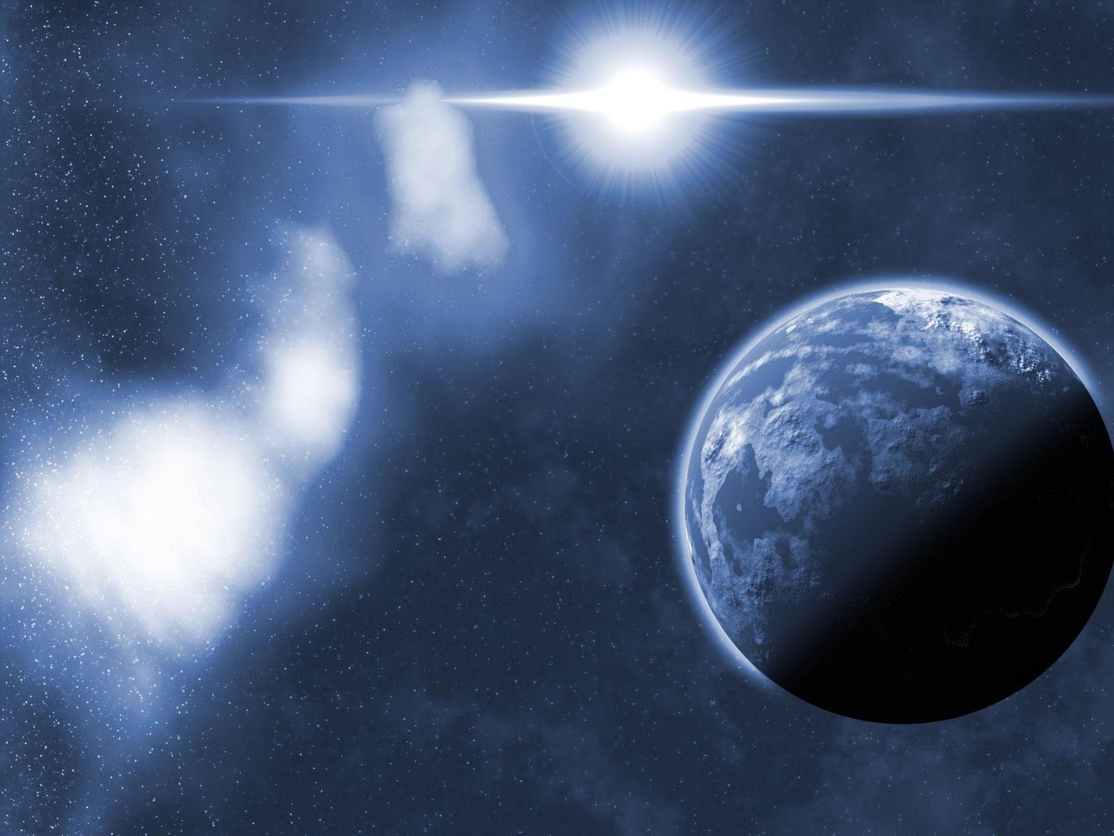 9528 скачать обои Пейзаж, Планеты, Космос, Солнце - заставки и картинки бесплатно