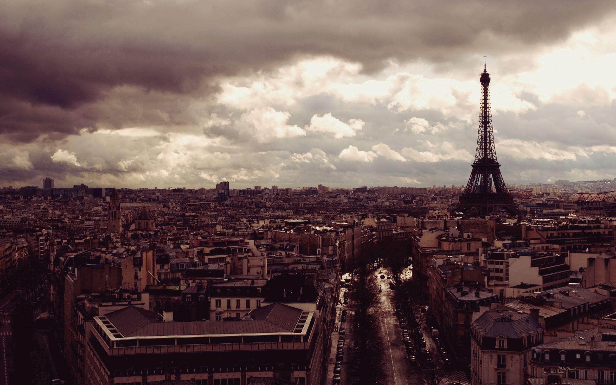 76164 télécharger le fond d'écran Paris, Vue D'en-Haut, Vue D'En Haut, Villes, Tour Eiffel - économiseurs d'écran et images gratuitement