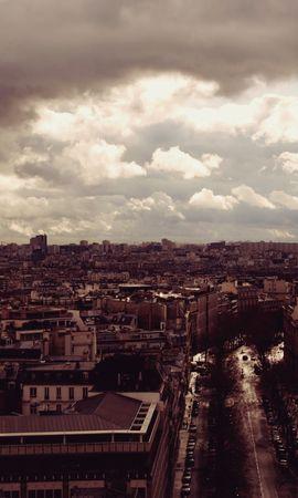 76164 baixar papel de parede Paris, Vista De Cima, Ver De Cima, Cidades, Torre Eiffel - protetores de tela e imagens gratuitamente