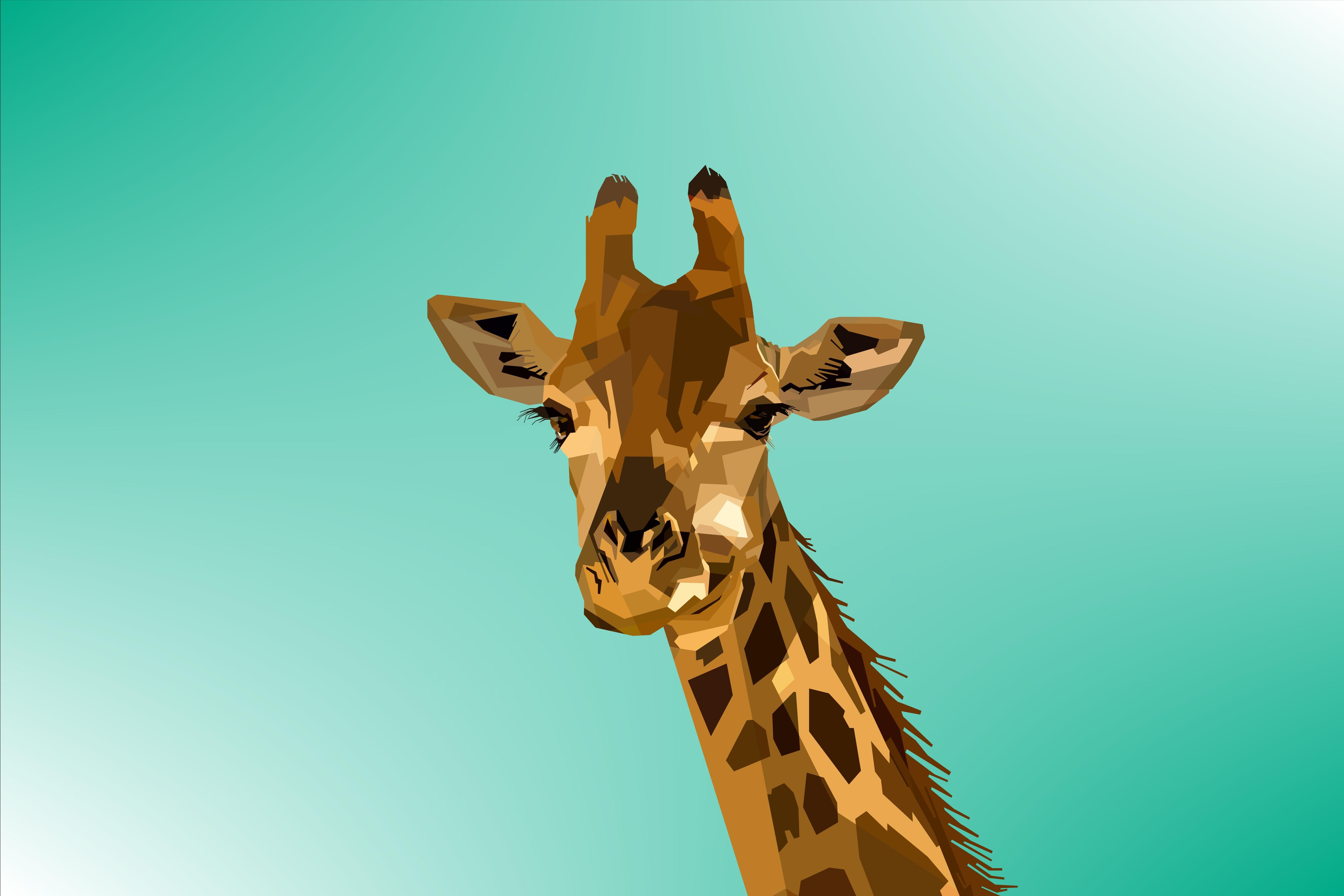 55978 免費下載壁紙 向量, 矢量, 长颈鹿, 枪口, 莫尔达, 艺术 屏保和圖片