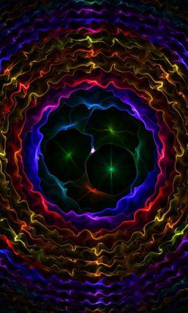 141642 télécharger le fond d'écran Abstrait, Sombre, Contexte, Cercles, Patterns - économiseurs d'écran et images gratuitement