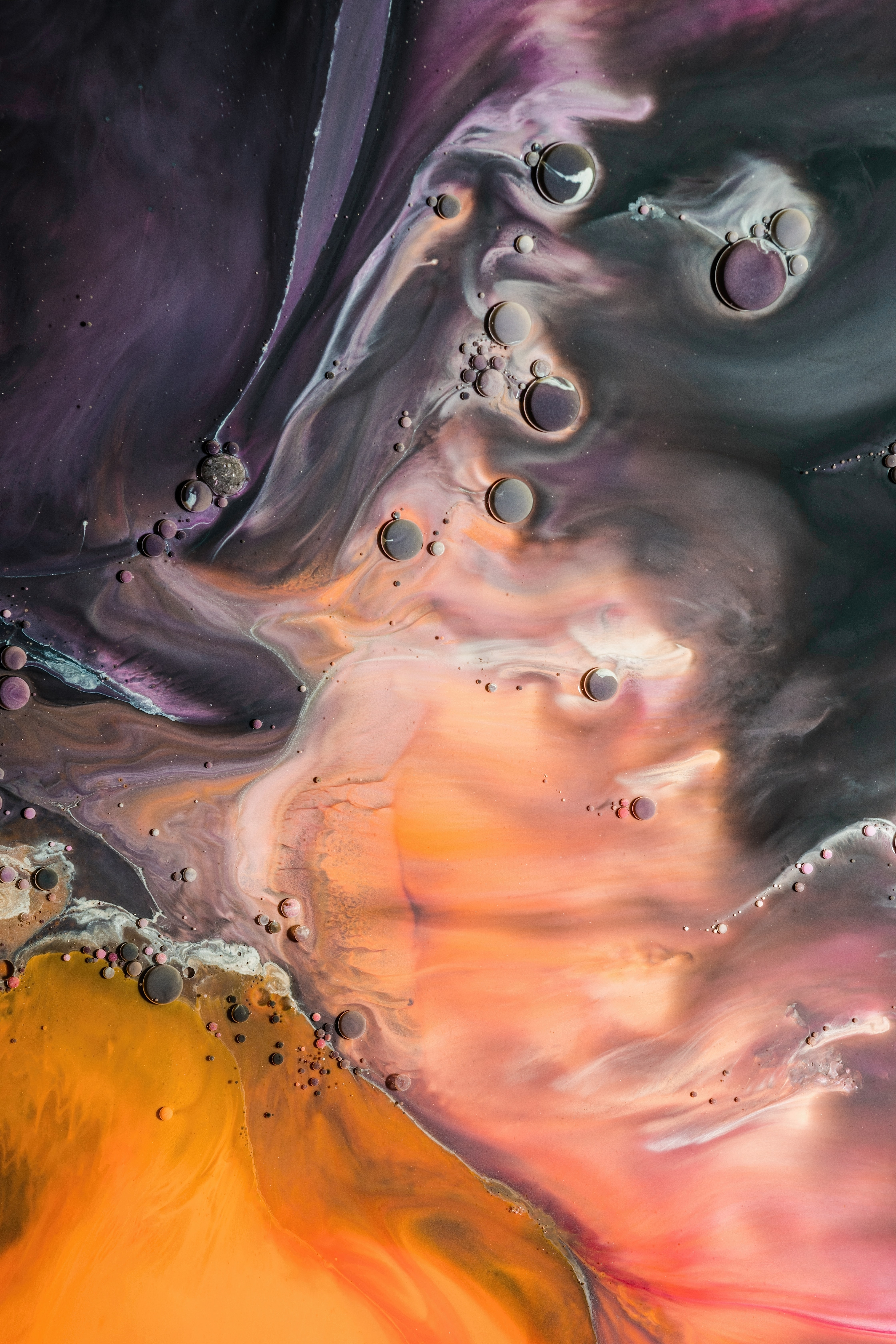 143679 download wallpaper Abstract, Paint, Liquid, Divorces, Drops screensavers and pictures for free