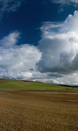 6776 скачать обои Пейзаж, Поля, Небо - заставки и картинки бесплатно
