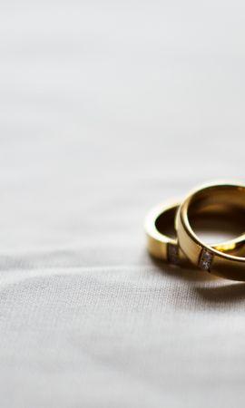 84890 Заставки и Обои Свадьба на телефон. Скачать Свадьба, Пара, Золото, Любовь, Кольца картинки бесплатно