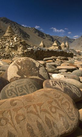 1798 download wallpaper Landscape, Stones, Mountains screensavers and pictures for free
