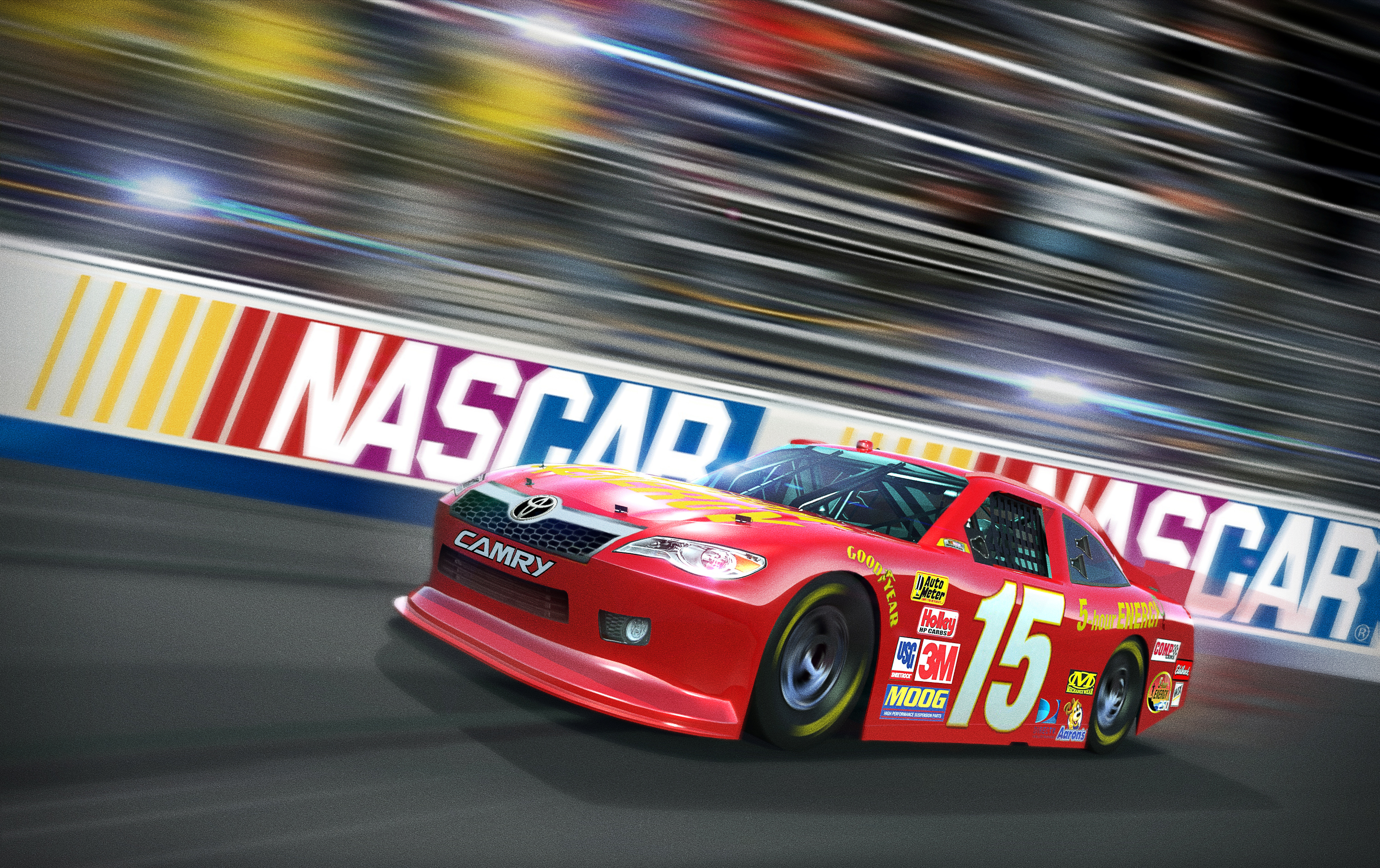 97258 Screensavers and Wallpapers Races for phone. Download Art, Races, Cars, 2015, Nascar pictures for free