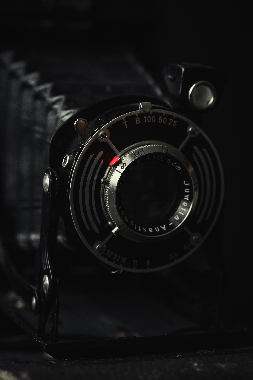 96608 Заставки и Обои Технологии на телефон. Скачать Черный, Старый, Ретро, Объектив, Технологии, Камера картинки бесплатно