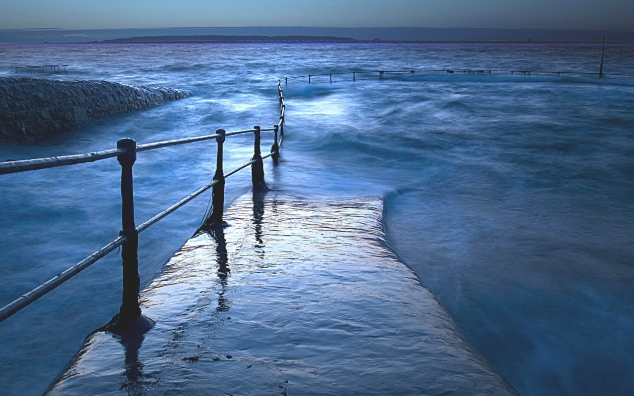 21994 download wallpaper Landscape, Sea, Waves screensavers and pictures for free