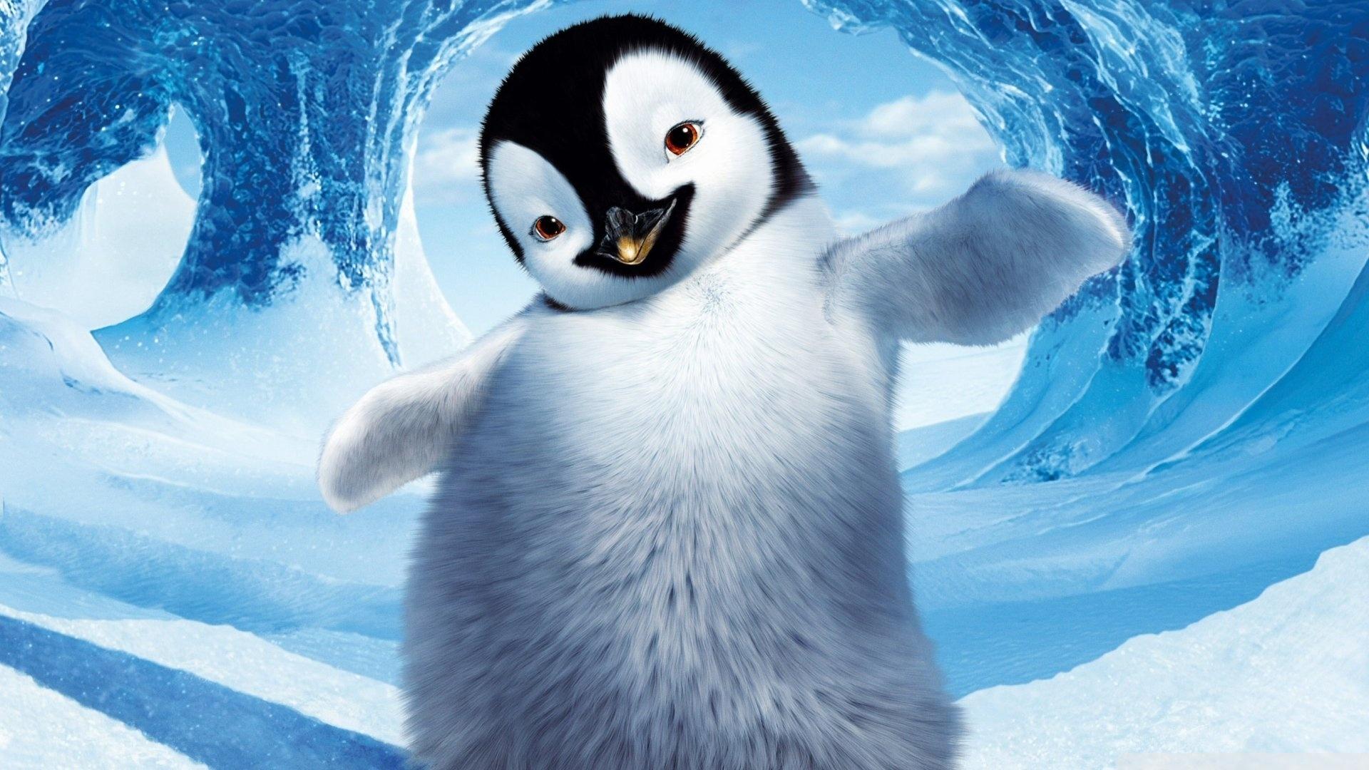 42998 скачать обои Животные, Пингвины, Рисунки - заставки и картинки бесплатно