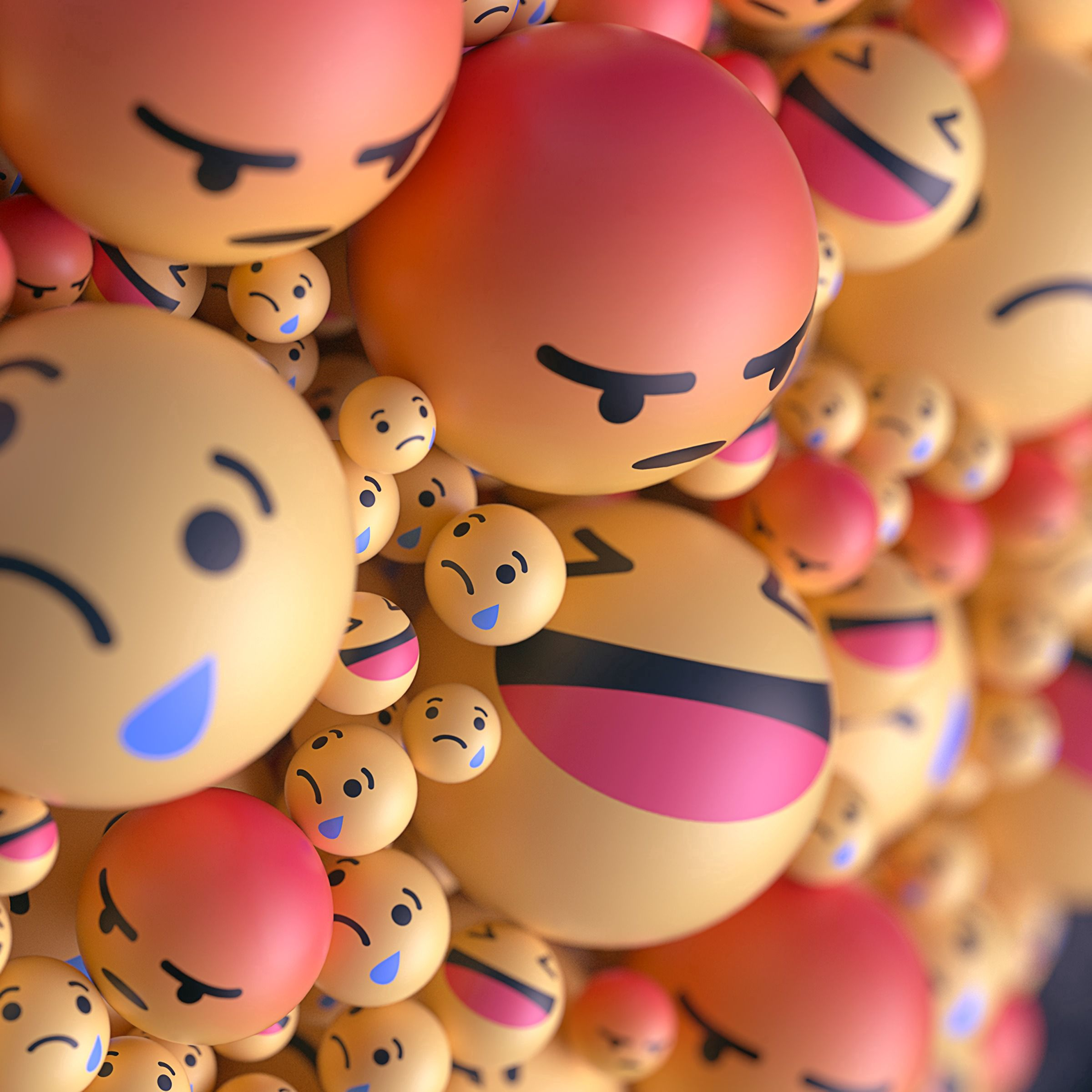 Free wallpaper 122710: Smilies, Smiles, Emoticons, Smileys, Balloons, Taw, 3D, Emotions download pictures for cellphone