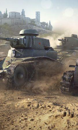 22437 télécharger le fond d'écran Jeux, World Of Tanks - économiseurs d'écran et images gratuitement