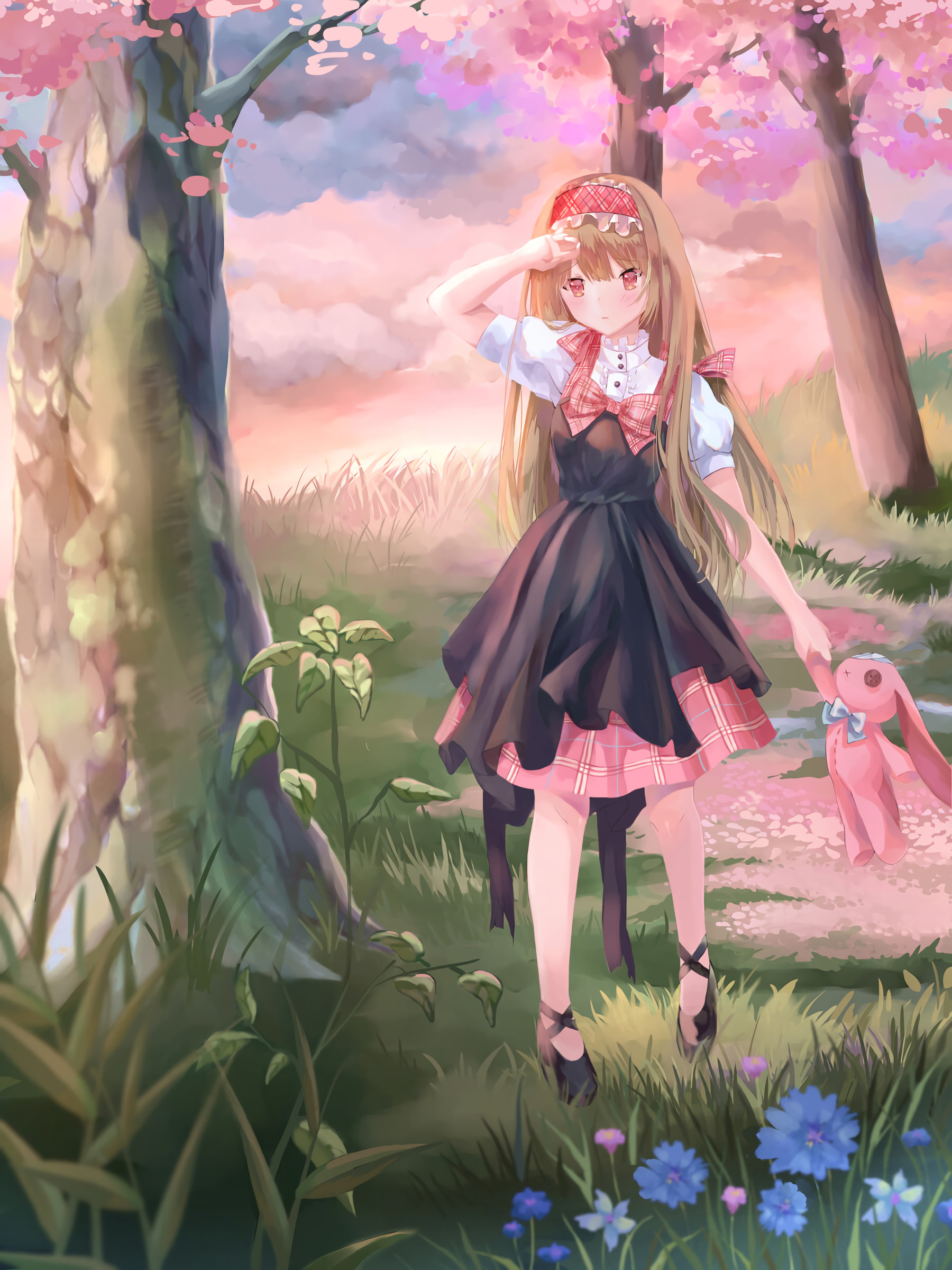 73607 download wallpaper Anime, Art, Toy, Girl screensavers and pictures for free