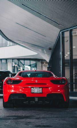 88778 télécharger le fond d'écran Voitures, Ferrari 458, Ferrari, Voiture, Voiture De Sport, Sportif, Vue Arrière - économiseurs d'écran et images gratuitement