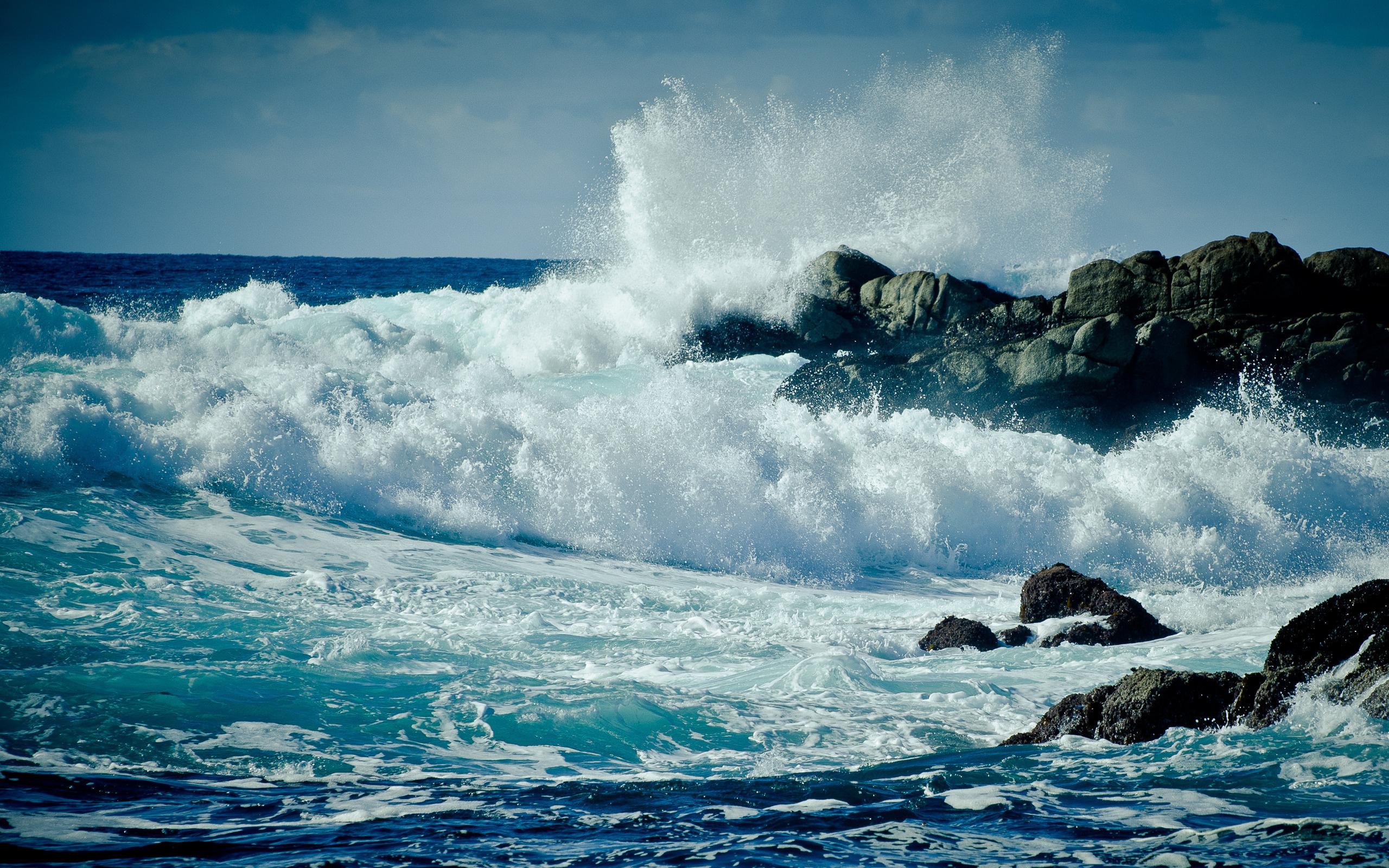 19699 скачать обои Пейзаж, Море, Волны - заставки и картинки бесплатно