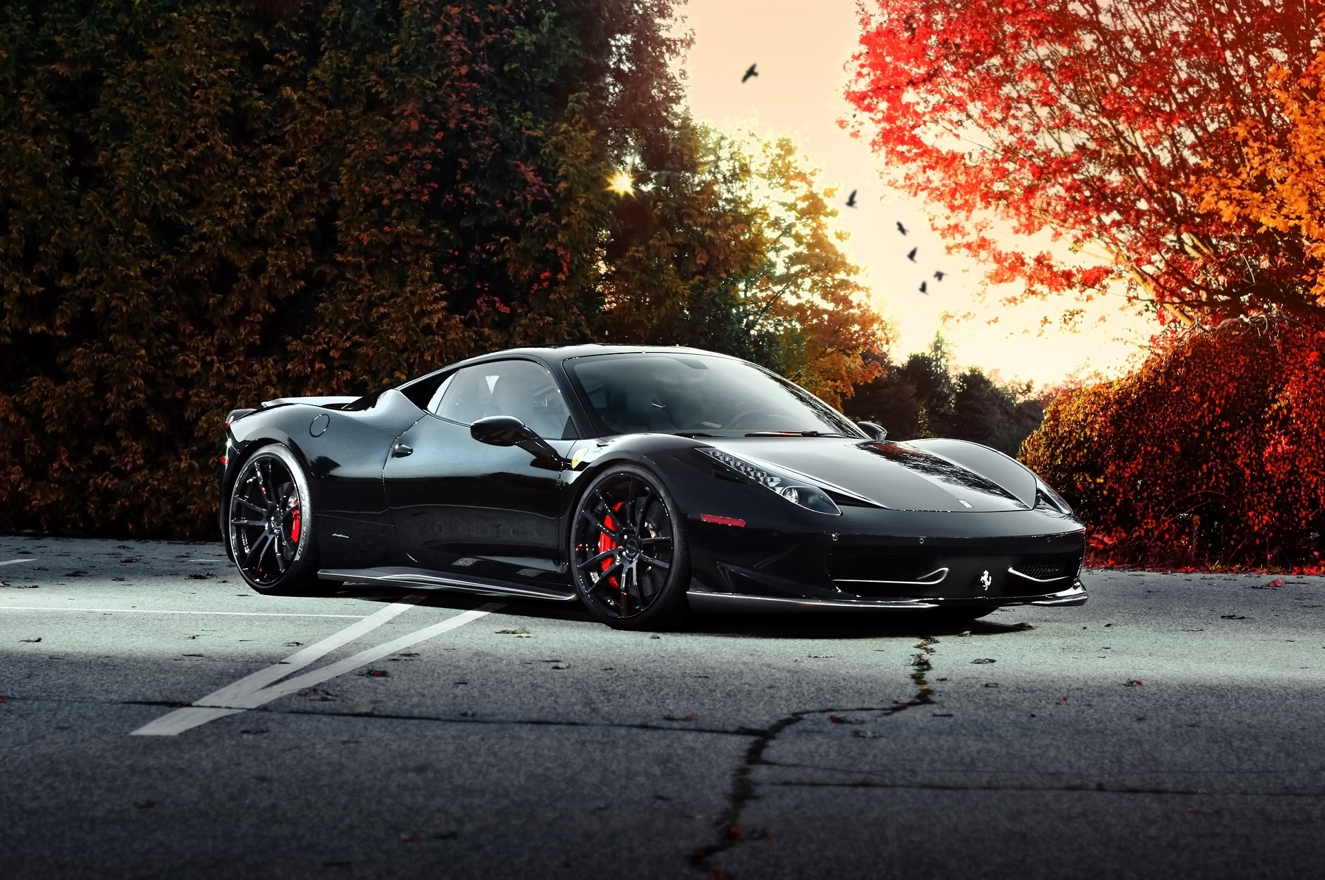 92302 download wallpaper Cars, Ferrari, 458 Italia, Auto, Side View screensavers and pictures for free