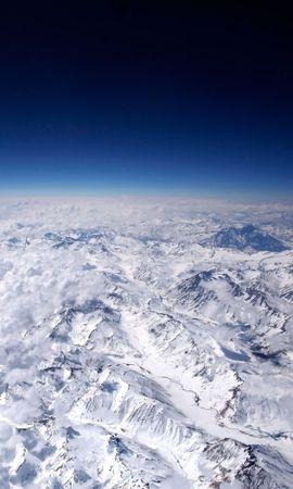 27836 скачать обои Пейзаж, Небо, Горы, Облака, Снег - заставки и картинки бесплатно