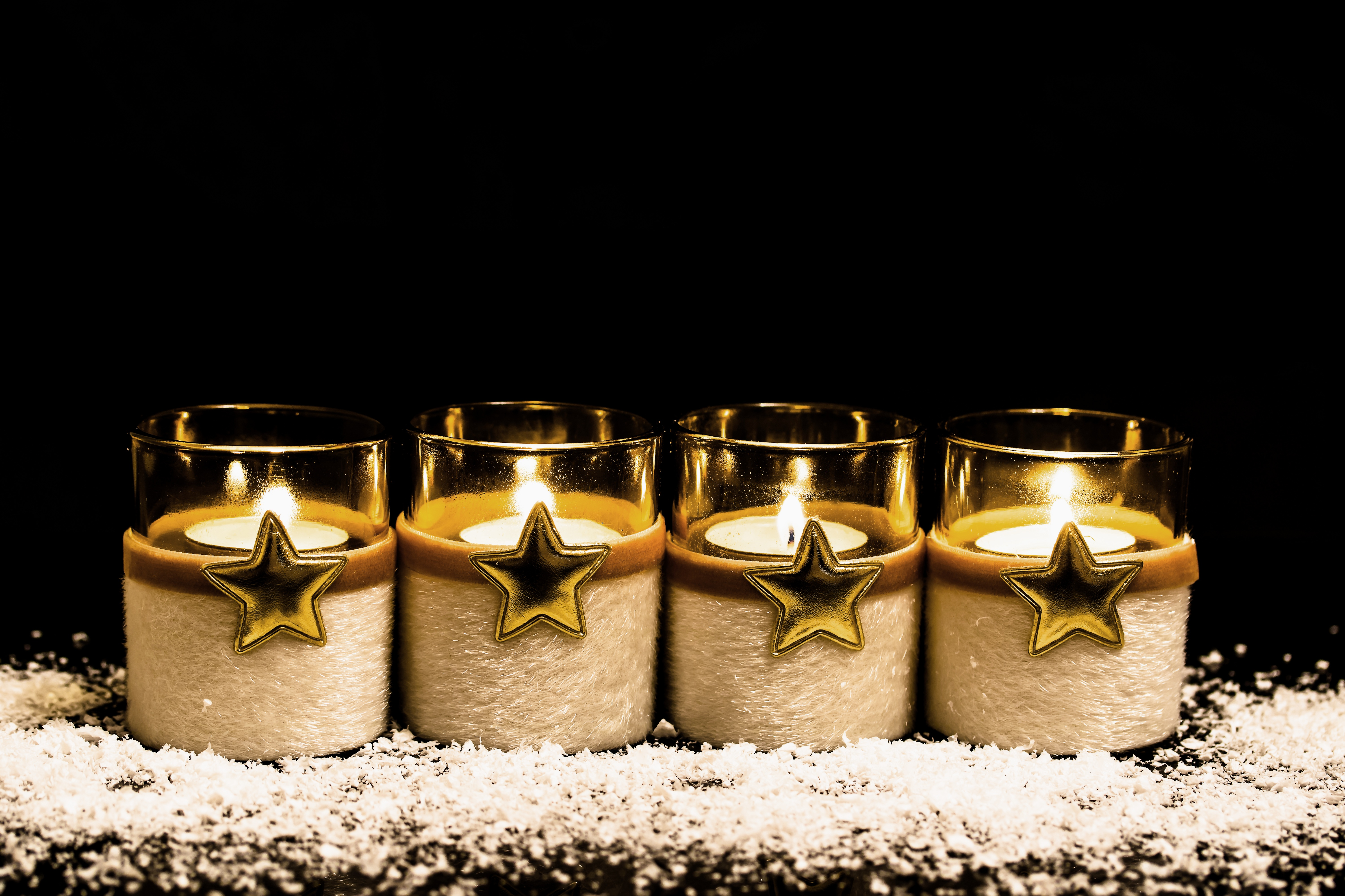 121777 Screensavers and Wallpapers Candles for phone. Download Stars, Candles, Miscellanea, Miscellaneous, Tinsel, Sequins, Wax pictures for free