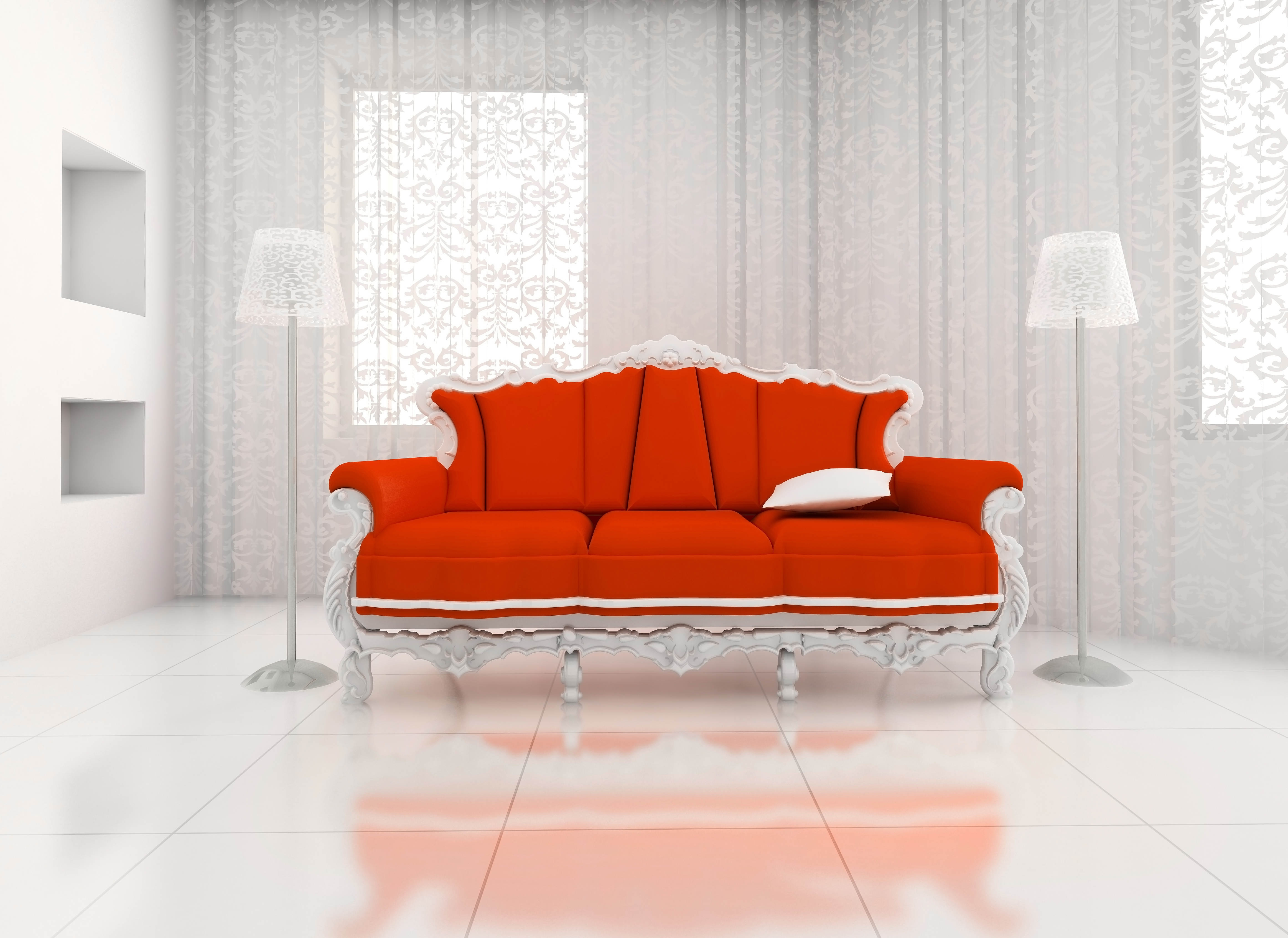 98938 Screensavers and Wallpapers Room for phone. Download Miscellanea, Miscellaneous, Sofa, Room, Light Fixtures, Lights, Curtains pictures for free