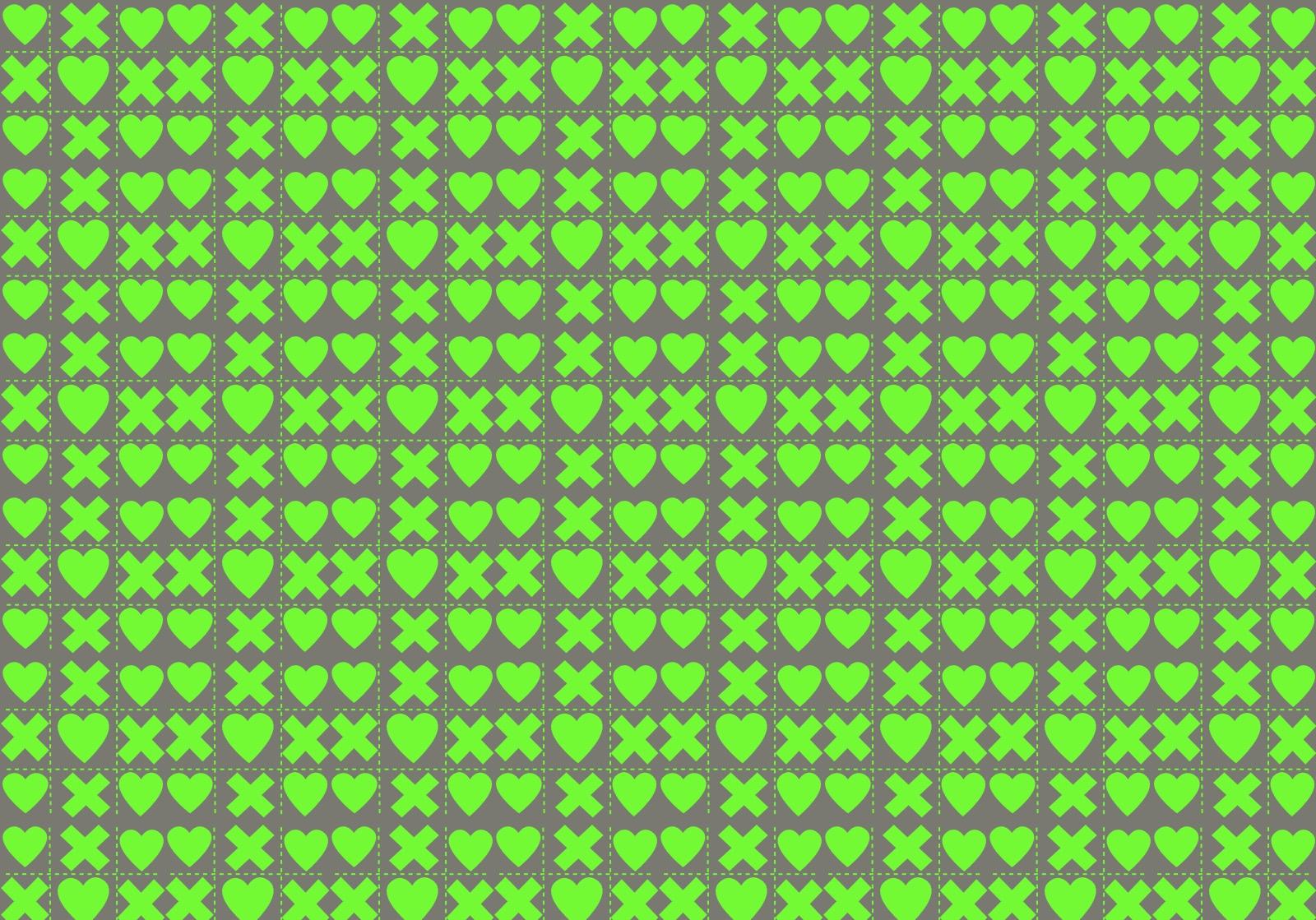 67424 скачать обои Сердца, Кресты, Текстуры, Зеленый, Квадраты - заставки и картинки бесплатно
