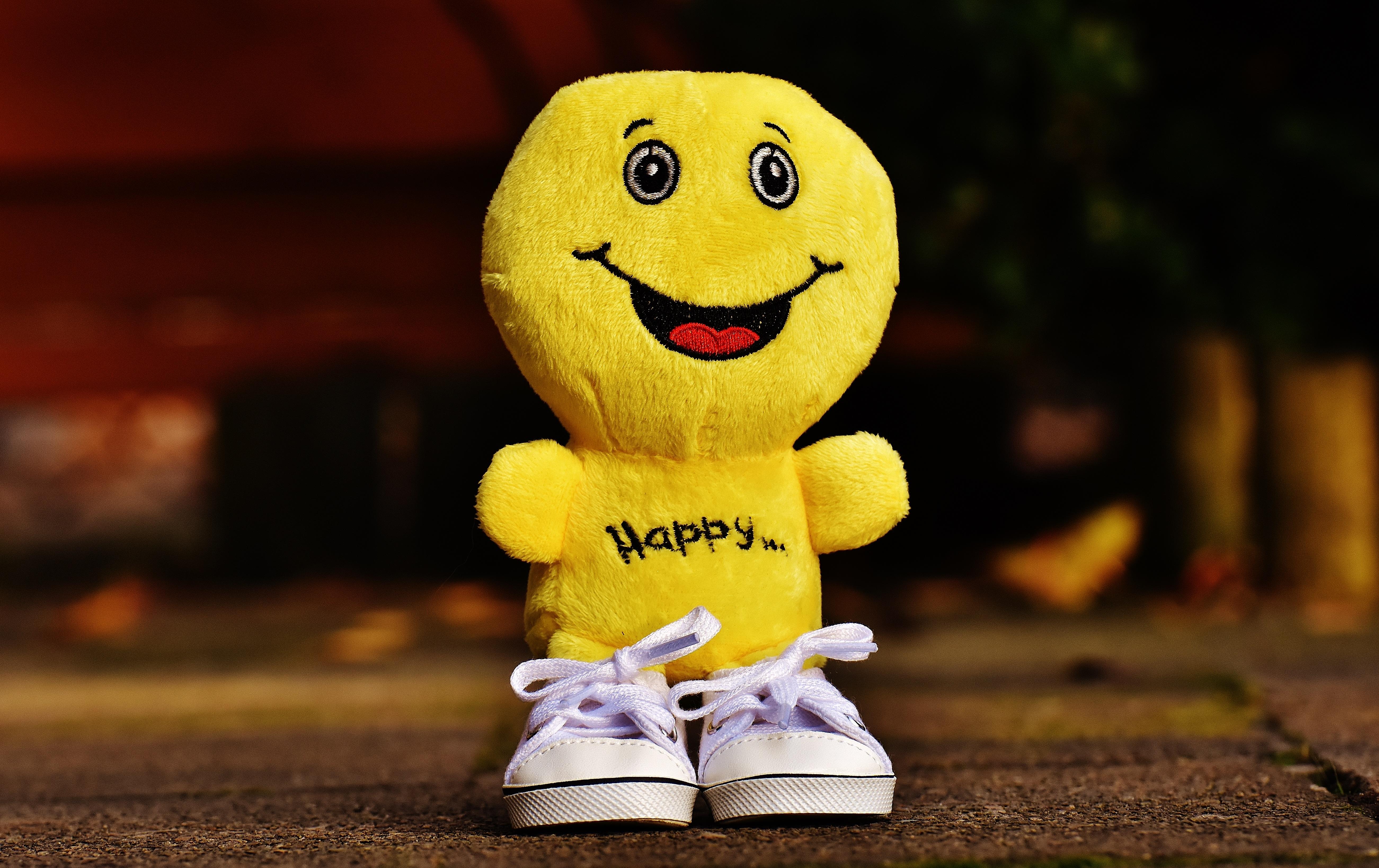 138645 Hintergrundbild herunterladen Sonstige, Spielzeug, Verschiedenes, Lächeln, Glück, Emoticon, Smiley - Bildschirmschoner und Bilder kostenlos