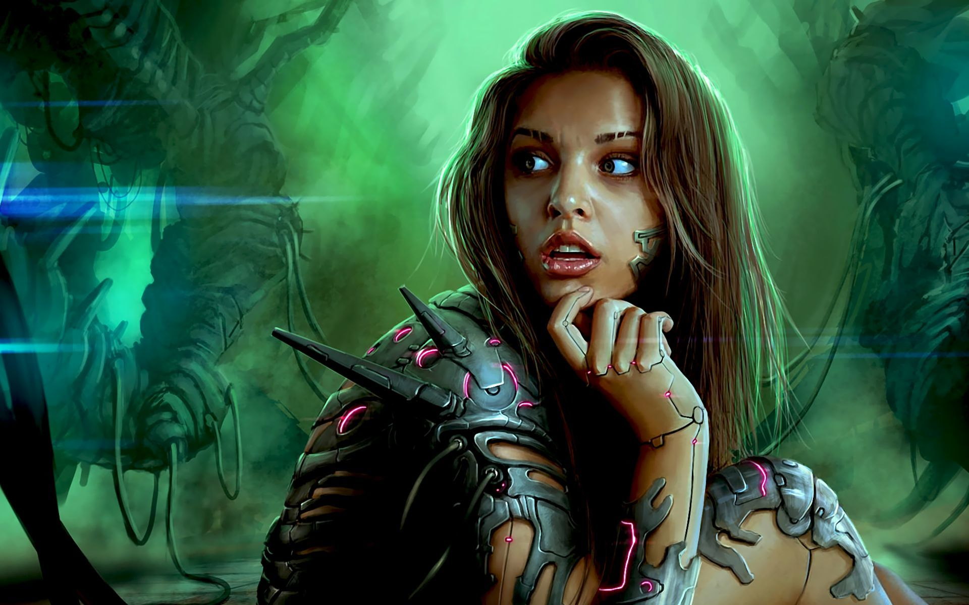 46773 download wallpaper People, Girls, Fantasy screensavers and pictures for free