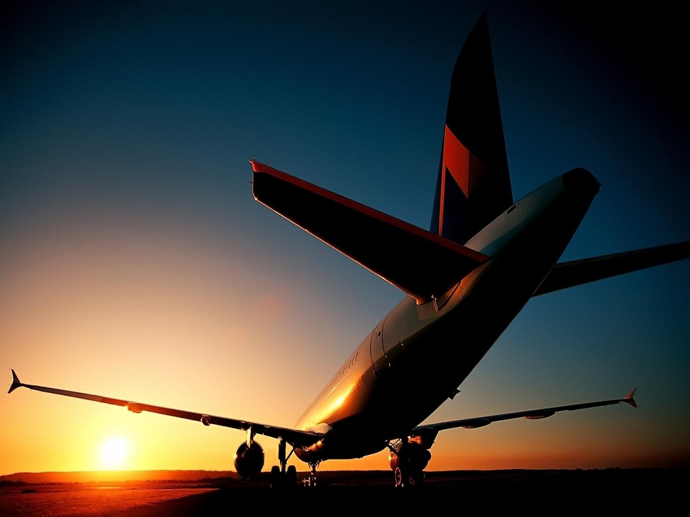 48764 Заставки и Обои Самолеты на телефон. Скачать Самолеты, Транспорт, Пейзаж, Закат картинки бесплатно