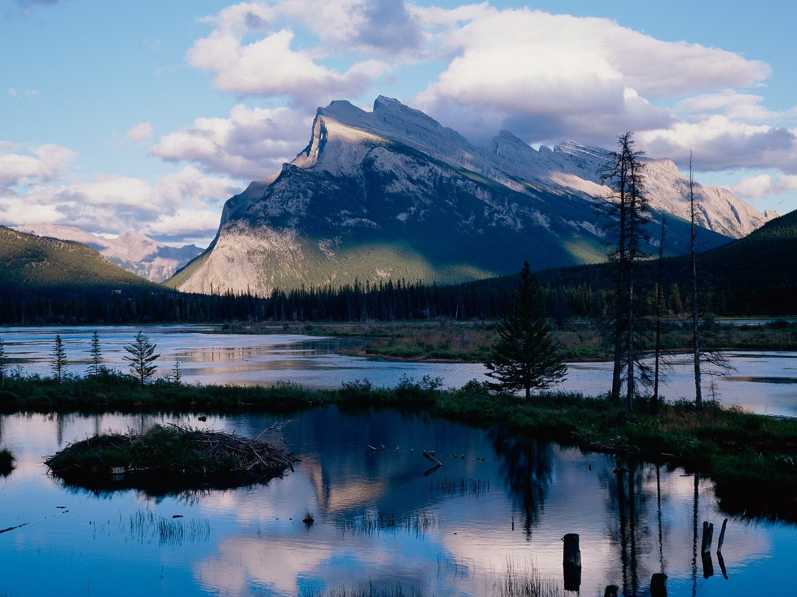 7626 скачать обои Пейзаж, Река, Горы - заставки и картинки бесплатно