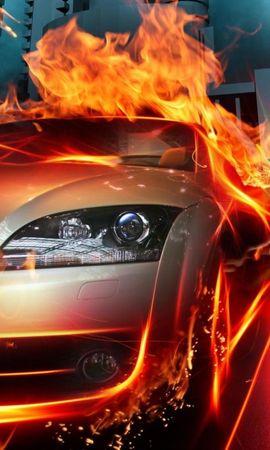 20853 descargar fondo de pantalla Transporte, Automóvil, Fuego: protectores de pantalla e imágenes gratis