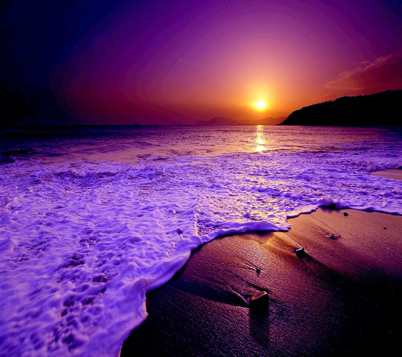 21070 скачать обои Пейзаж, Закат, Море, Пляж - заставки и картинки бесплатно