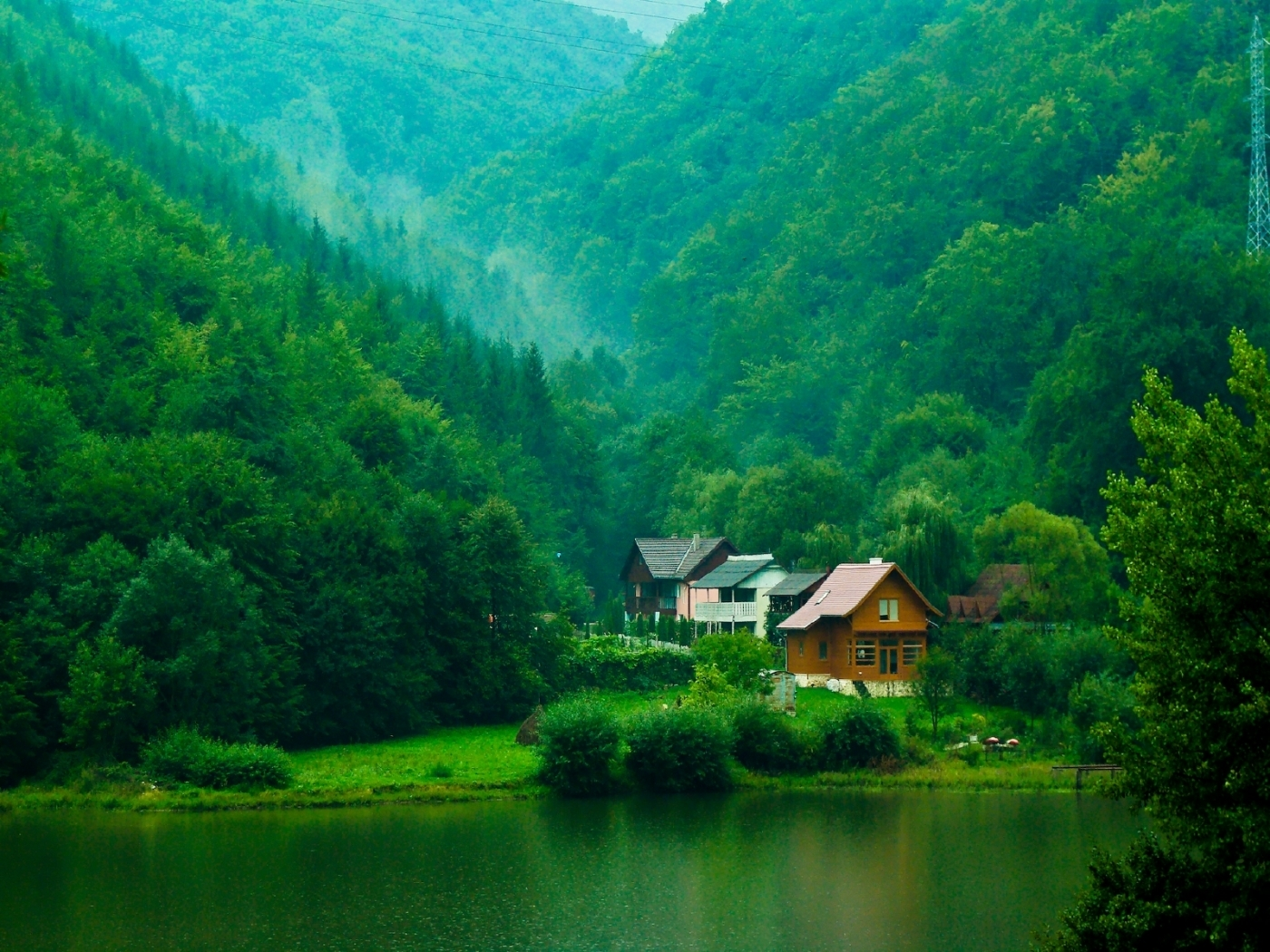 44450 download wallpaper Landscape, Nature, Houses screensavers and pictures for free