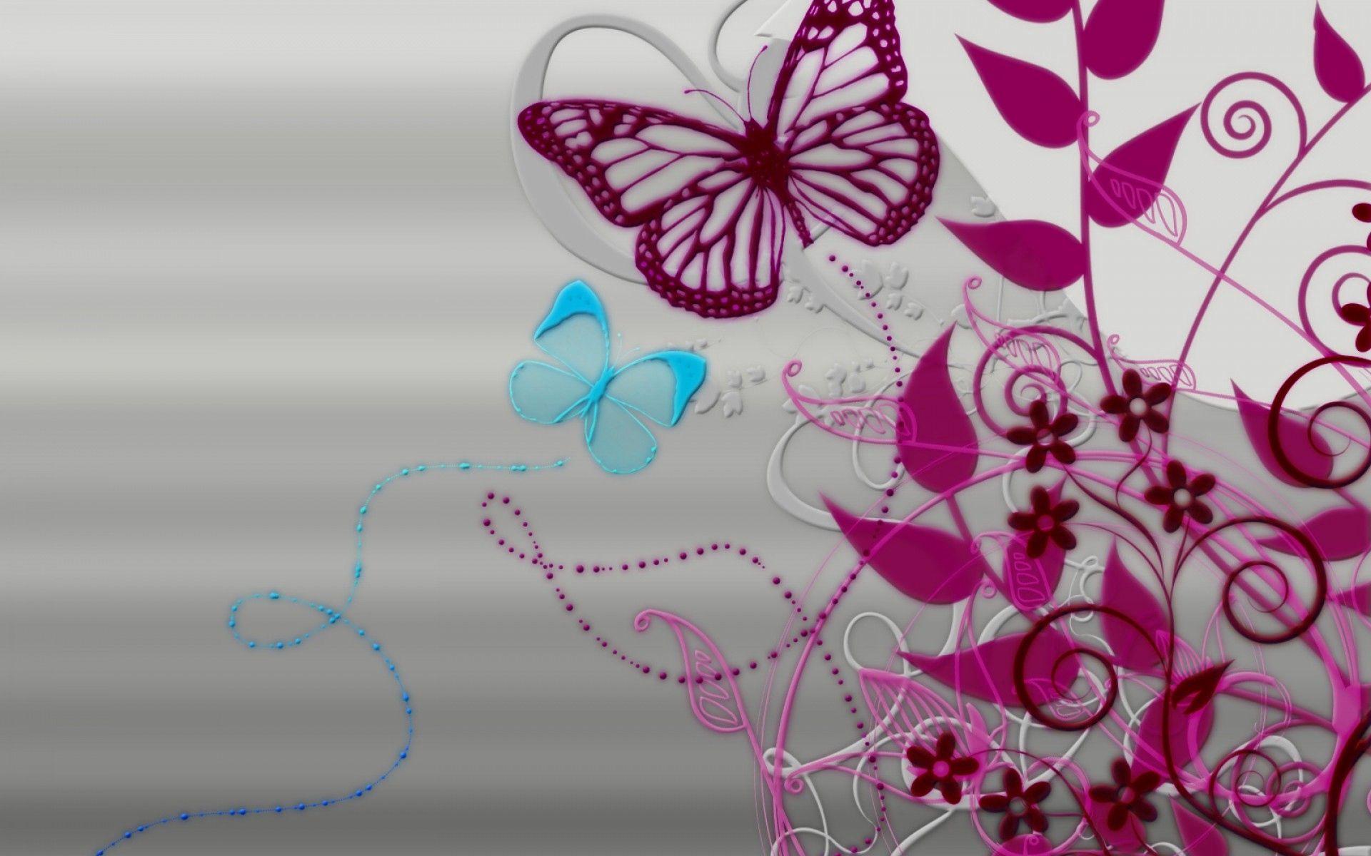 98072 скачать обои Абстракция, Линии, Бабочки, Фон, Узоры - заставки и картинки бесплатно