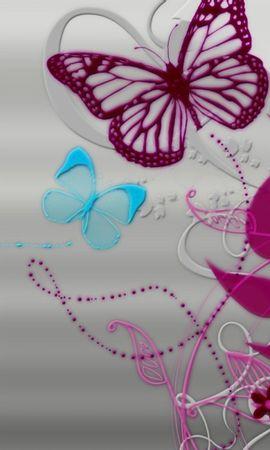 98072 descargar fondo de pantalla Abstracción, Líneas, Lineas, Mariposas, Fondo, Patrones: protectores de pantalla e imágenes gratis