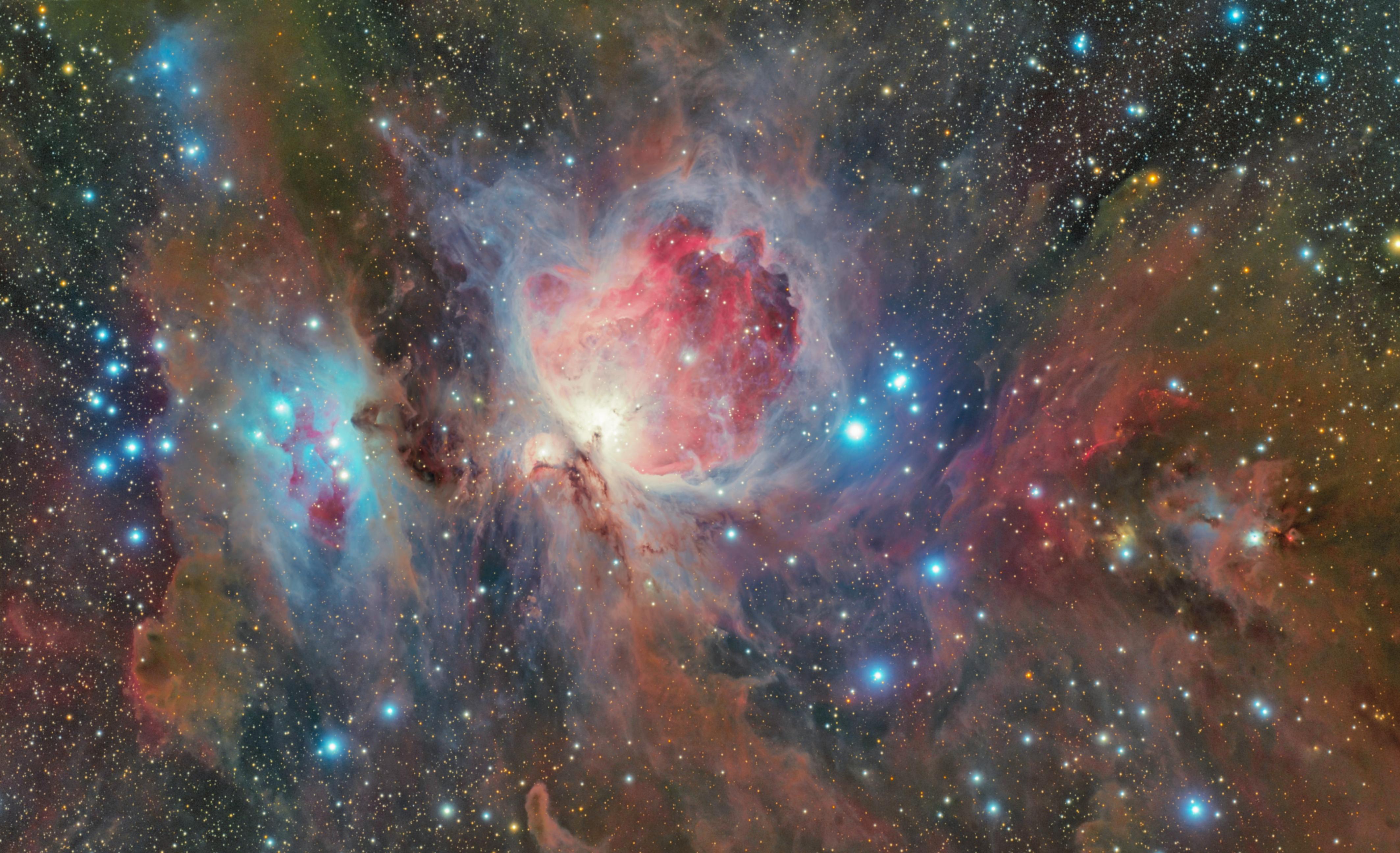 138907 скачать обои Туманность, Космос, Звезды, Галактика, Туманность Ориона - заставки и картинки бесплатно