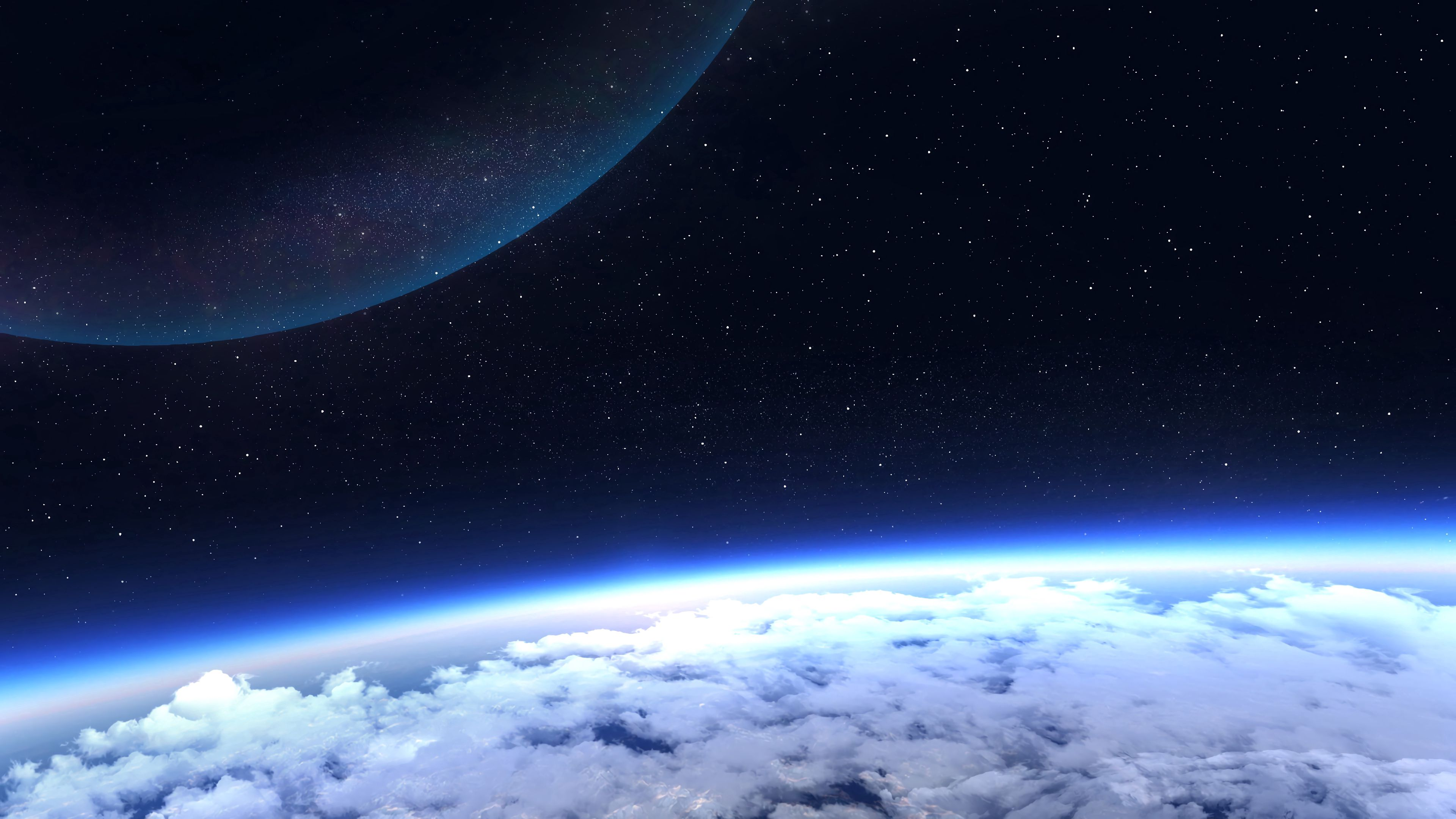 147486 Screensavers and Wallpapers Glow for phone. Download Glow, Universe, Stars, Planet, Atmosphere pictures for free