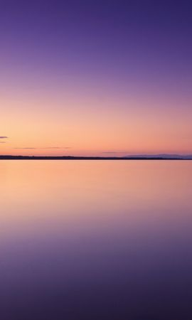 148955 download wallpaper Nature, Sunset, Wood, Tree, Lake, Sky, Water, Evening, Purple screensavers and pictures for free