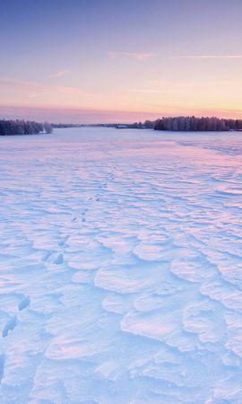 24338 скачать обои Пейзаж, Зима, Закат, Снег - заставки и картинки бесплатно