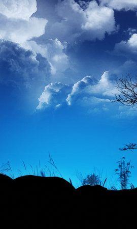 30319 скачать обои Пейзаж, Деревья, Облака - заставки и картинки бесплатно