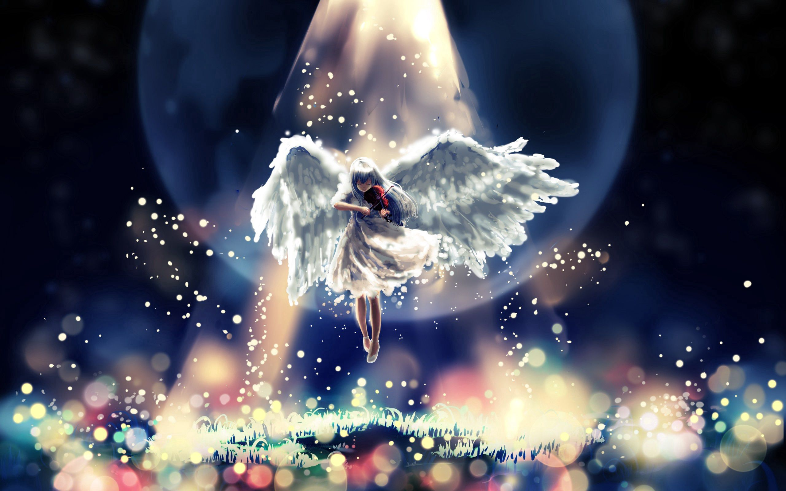 156806 download wallpaper Abstract, Angel, Flight, Sky, Handsomely, It's Beautiful screensavers and pictures for free