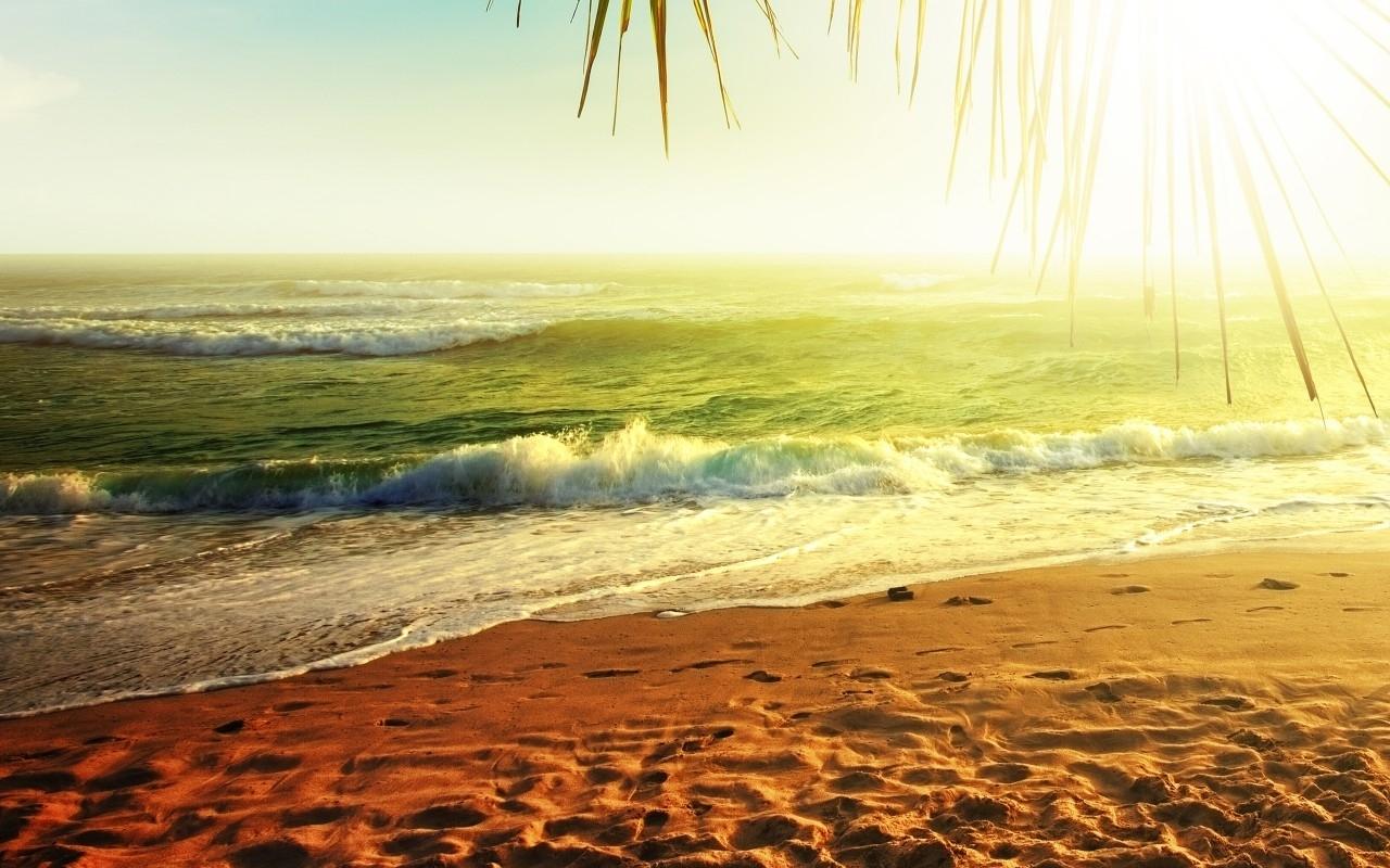 22889 скачать обои Пейзаж, Море, Солнце, Пляж - заставки и картинки бесплатно