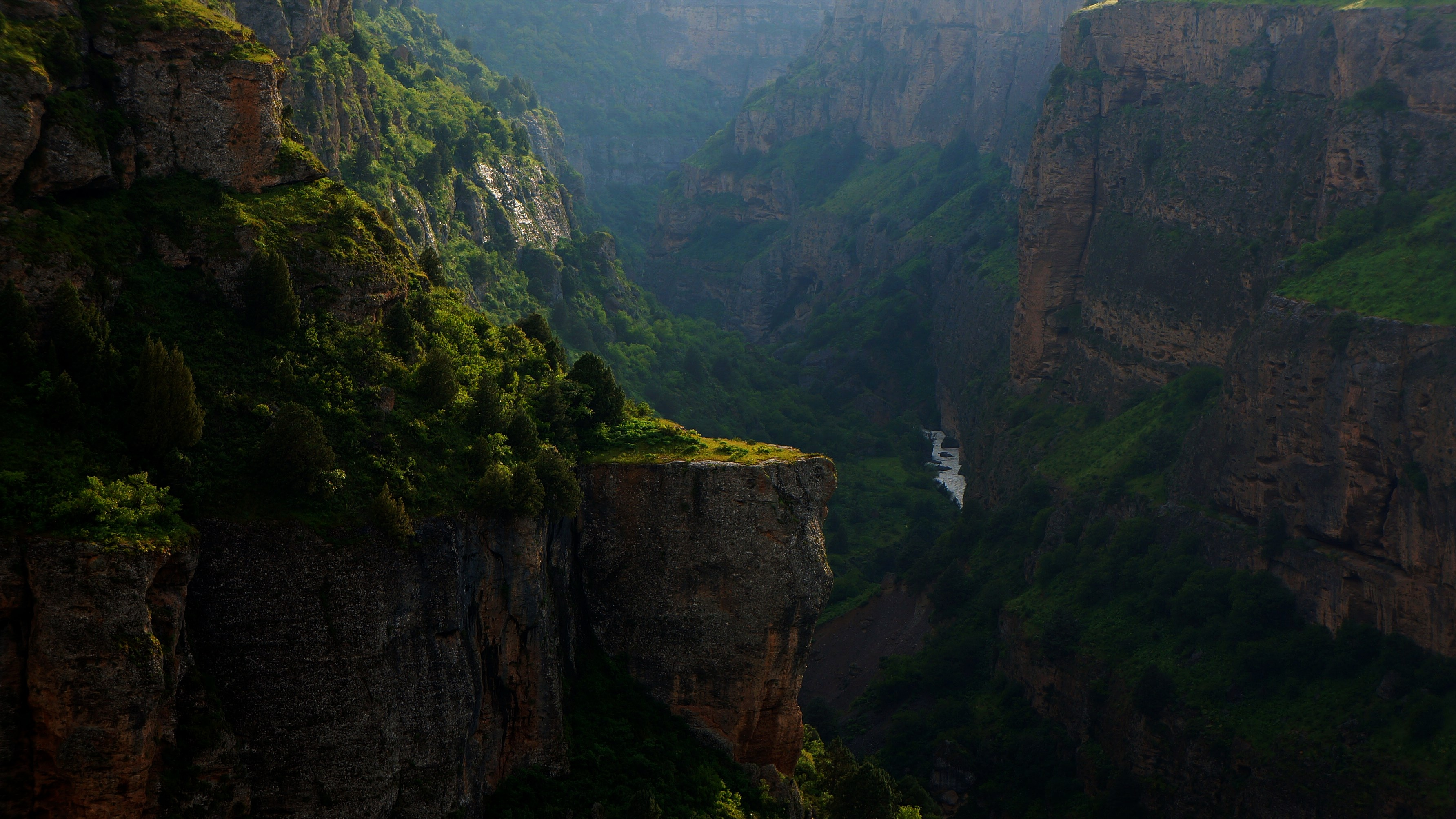 111343 download wallpaper Nature, Canyon, Rocks, Rivers, Break, Precipice, Mountains screensavers and pictures for free