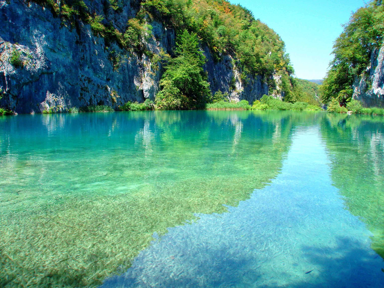 154260 скачать обои Горы, Природа, Озеро, Парк, Хорватия, Плитвицкие Озера - заставки и картинки бесплатно