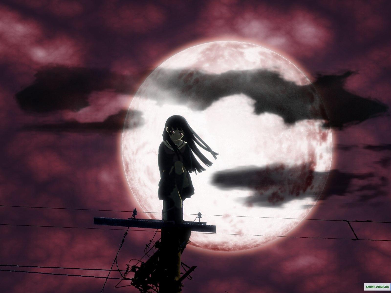 12584 Hintergrundbild 540x960 kostenlos auf deinem Handy, lade Bilder Anime, Mond 540x960 auf dein Handy herunter