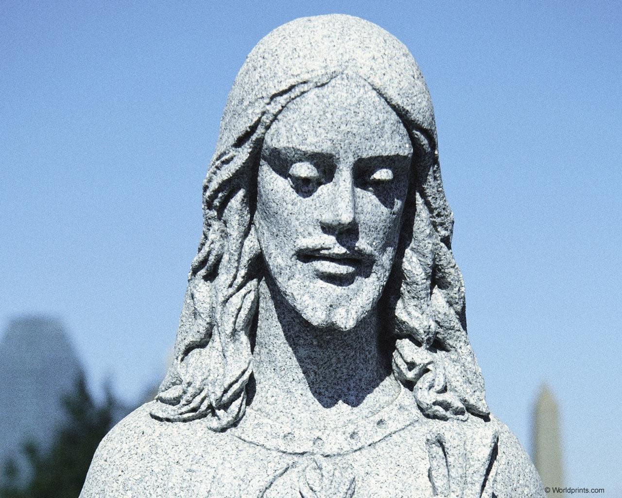 Скачать картинку Люди, Архитектура, Памятники, Иисус в телефон бесплатно.