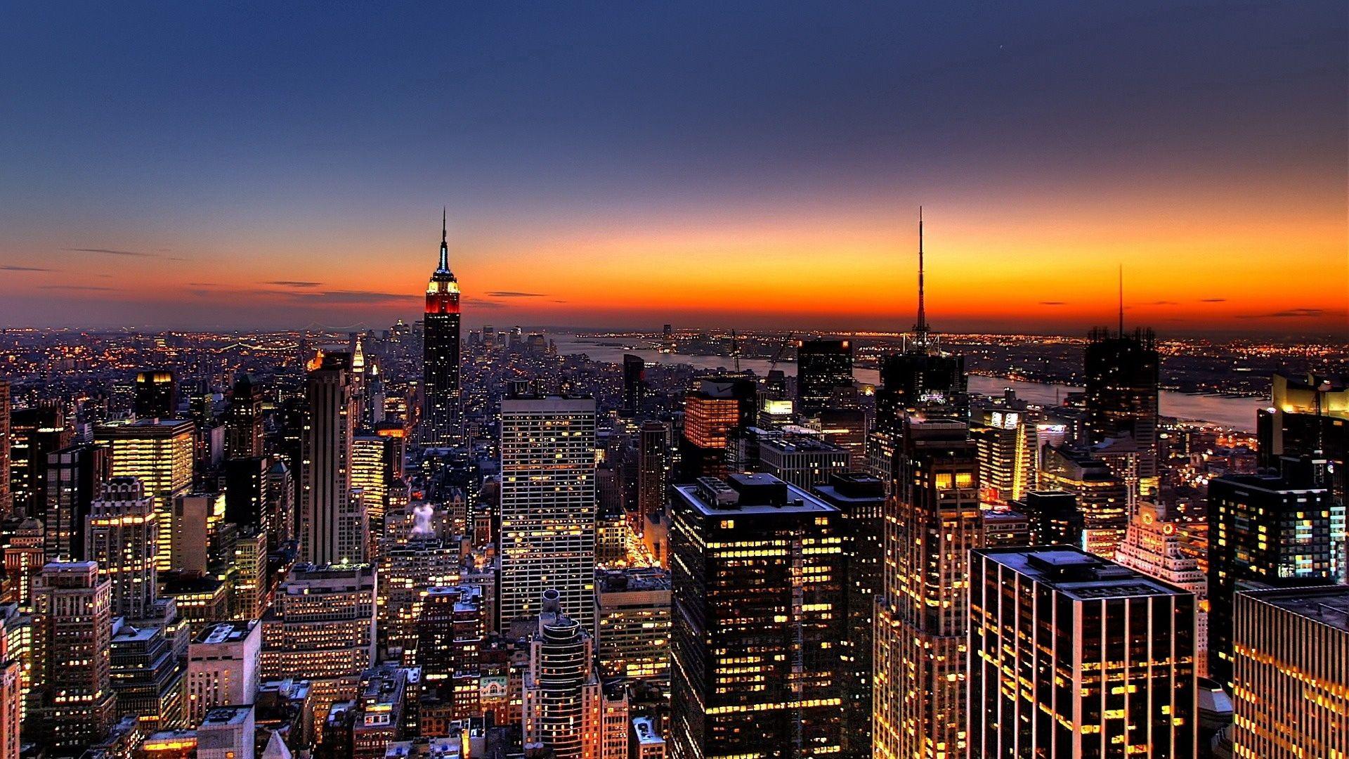 154823 Заставки и Обои Города на телефон. Скачать Нью-Йорк, Ночь, Небоскребы, Вид Сверху, Города картинки бесплатно