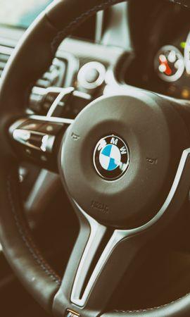 67378 скачать обои Тачки (Cars), Бмв (Bmw), M6, Руль, Интерьер - заставки и картинки бесплатно