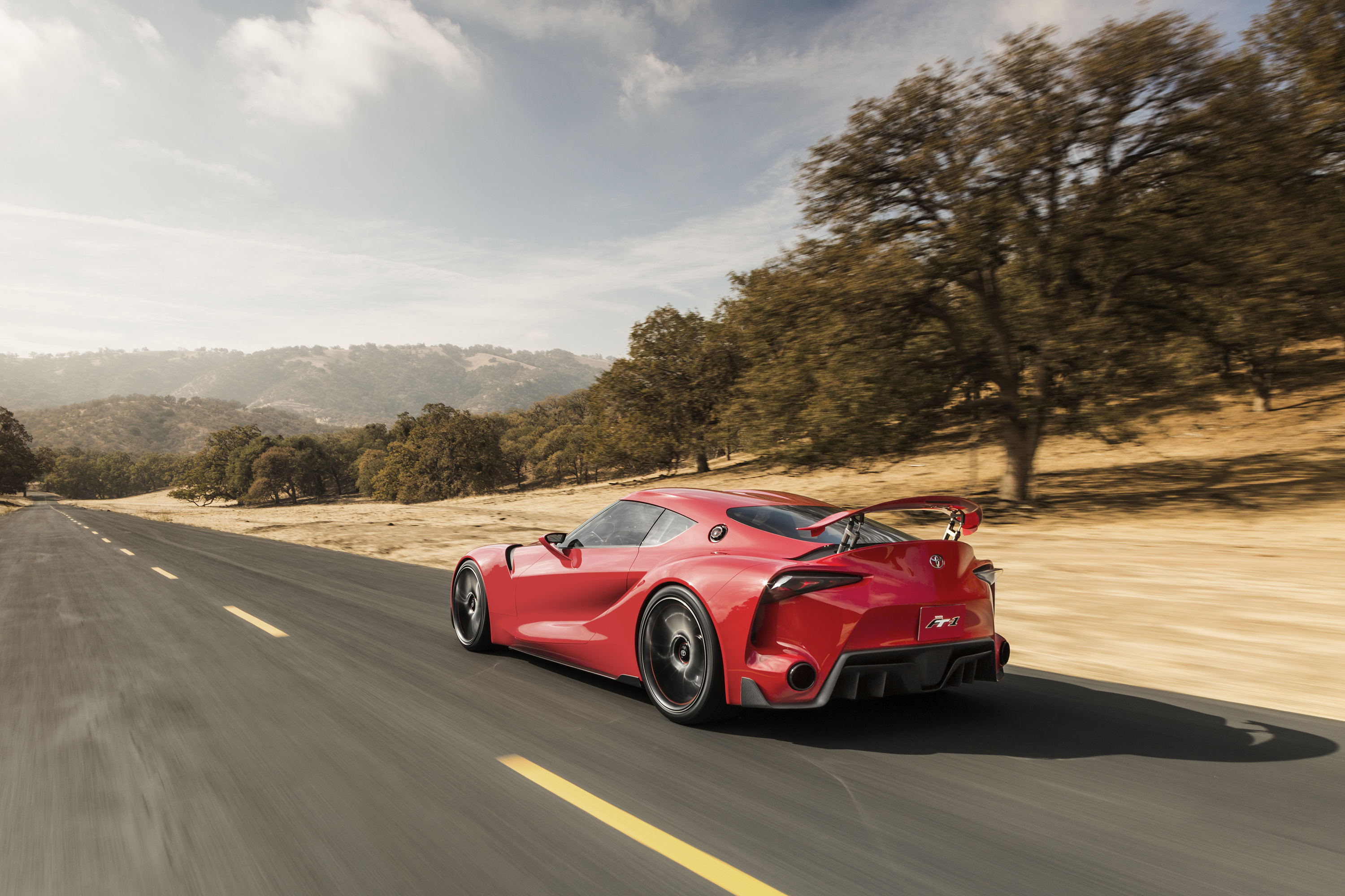 109780 download wallpaper Auto, Toyota, Cars, Ft-1, Concept, Side View, Speed screensavers and pictures for free